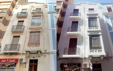 rehabilitacion de fachadas alicante
